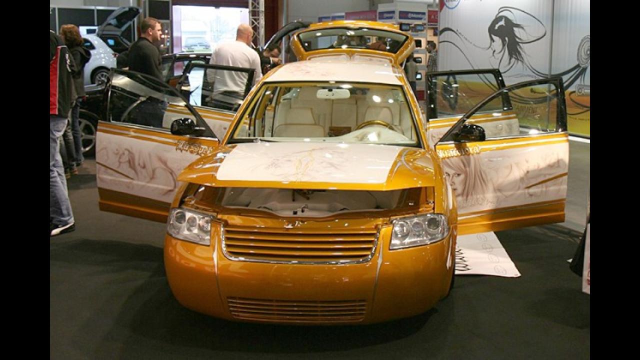 Für Individualisten: Der VW Passat Variant im Airbrush-Design