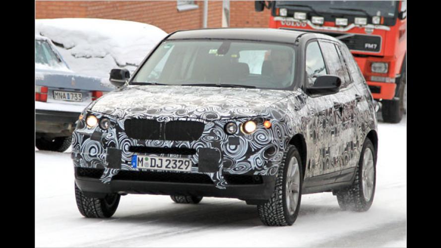 Erwischt: Neuer BMW X3 beim Kältetest