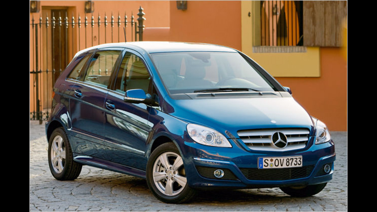 Mercedes B 150 BlueEFFICIENCY