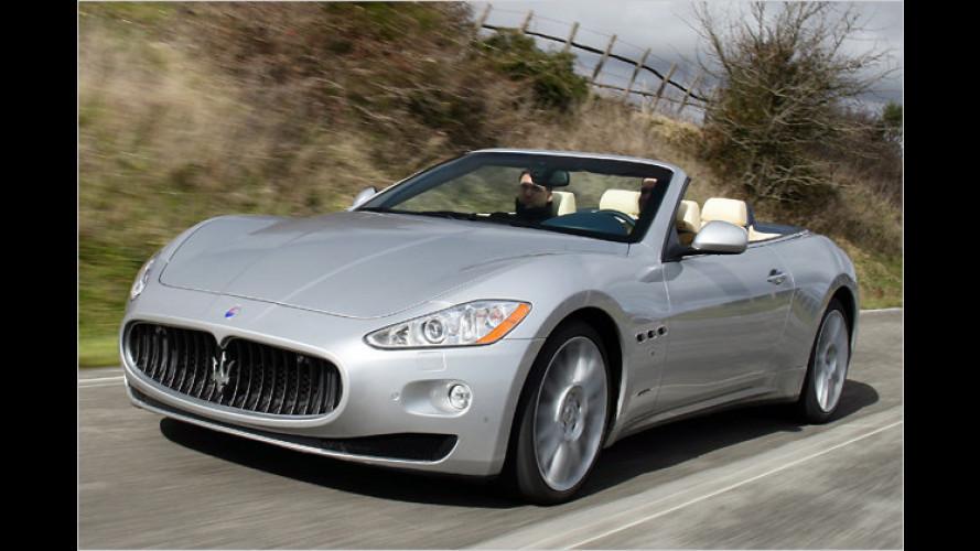 Frei-Stil: Maserati GranCabrio im Test