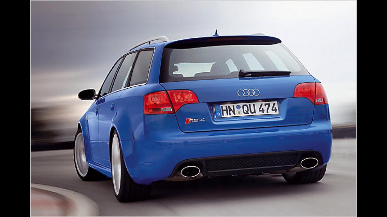 Platz 15: Audi RS4 Avant