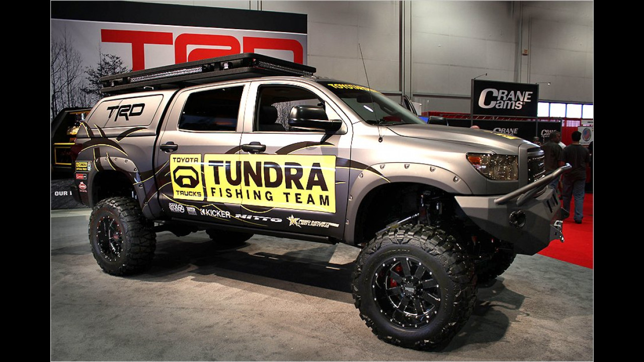 Toyota Tundra Fishing Team