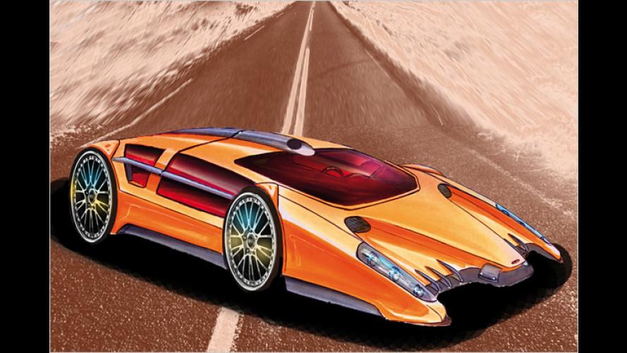 Vom Dreirad bis zum Roadster: Sbarros neue Studien