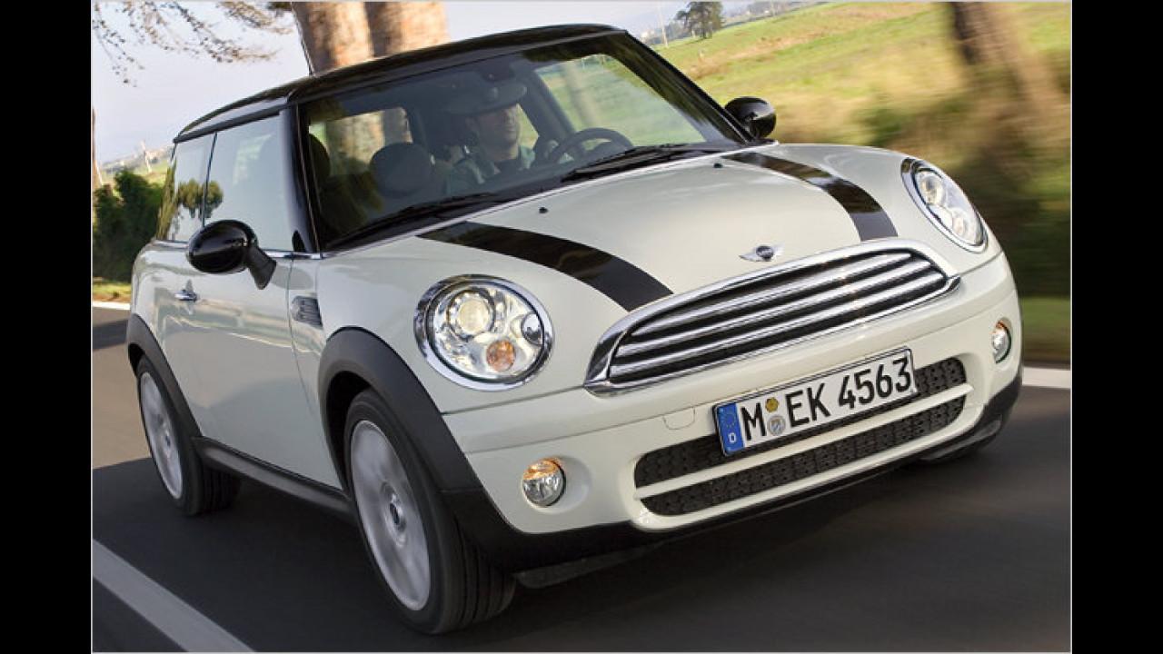 Platz 3 Kleinwagen: Mini
