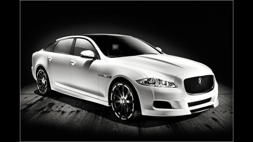 Premiere in Pebble Beach: Jaguar XJ75 Platinum Concept