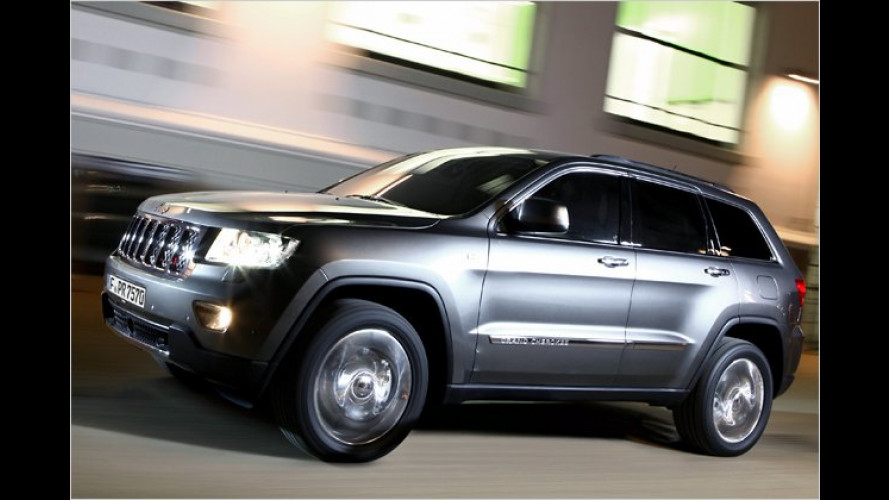 Günstiger Gelände-Gigant: Jeep Grand Cherokee 3.0 CRD