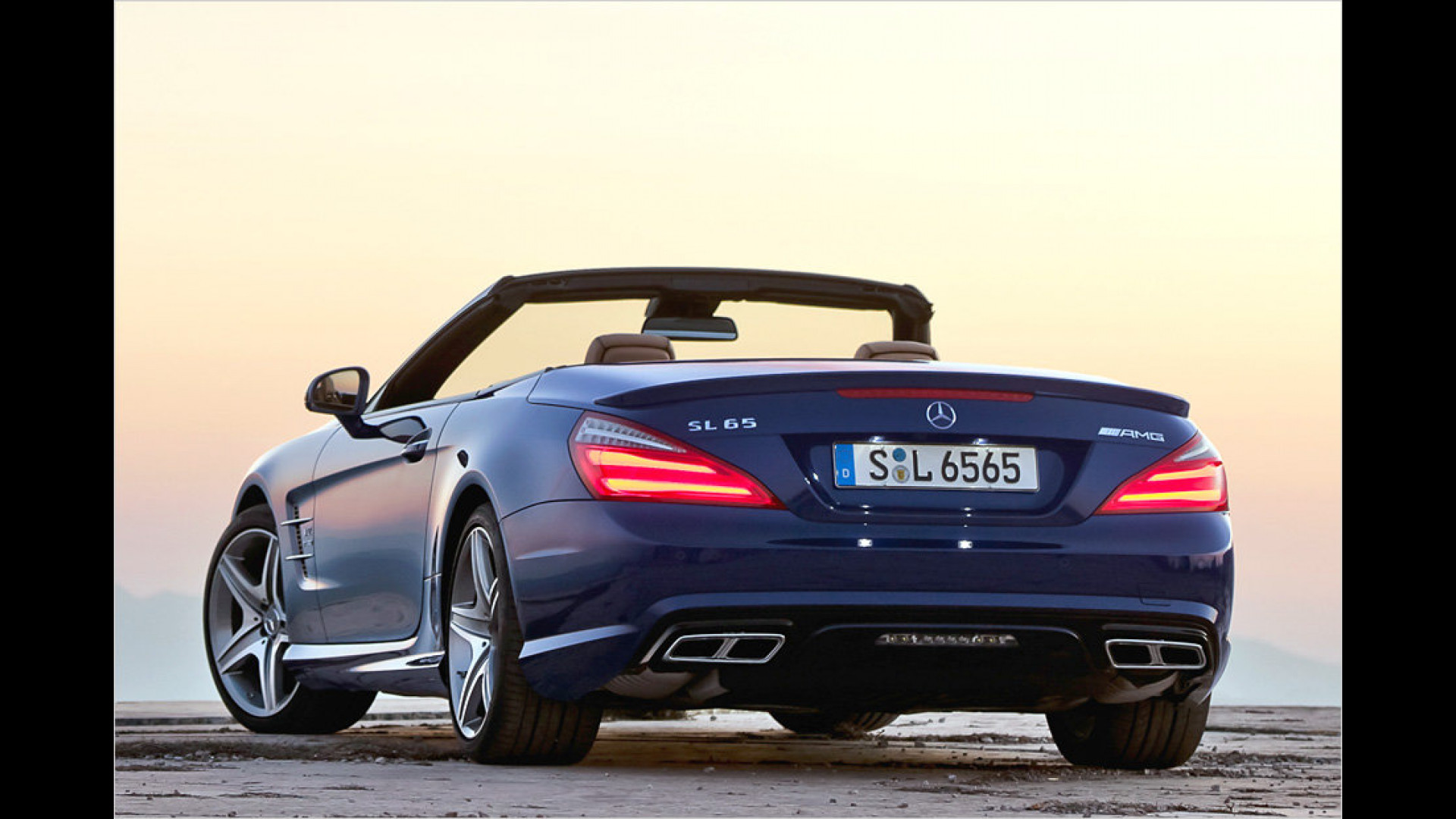 Over the top SL 65 AMG