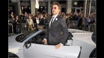 Iron Man fährt R8 Spyder