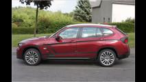Fast ungetarnt: BMW X1