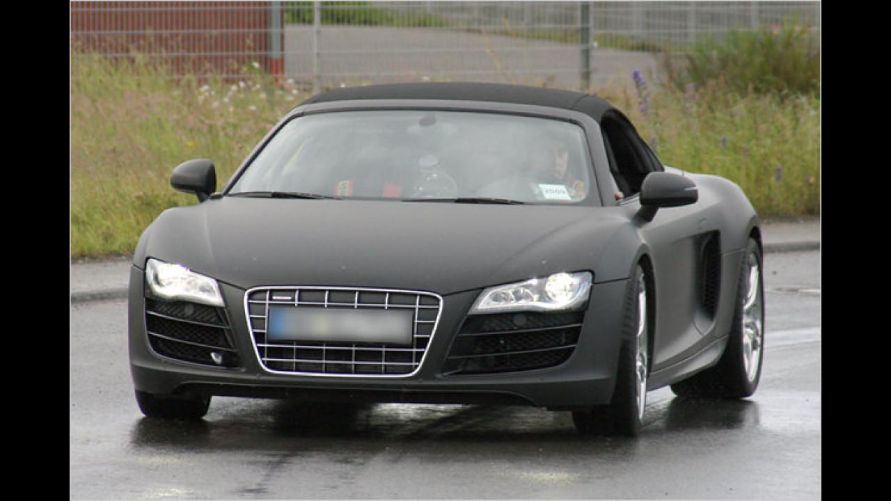 Erwischt: Audi R8 Spyder