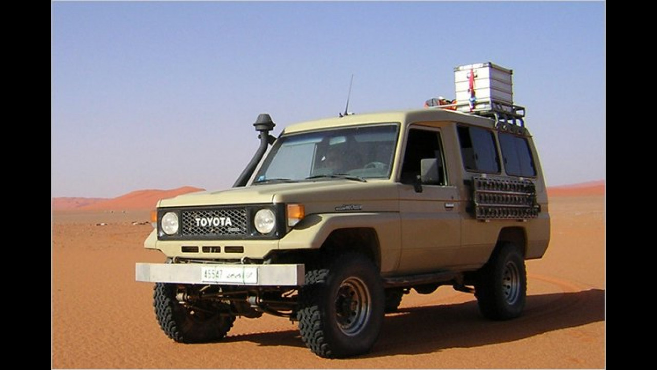 Land Cruiser Heavy Duty J7 (seit 1984)