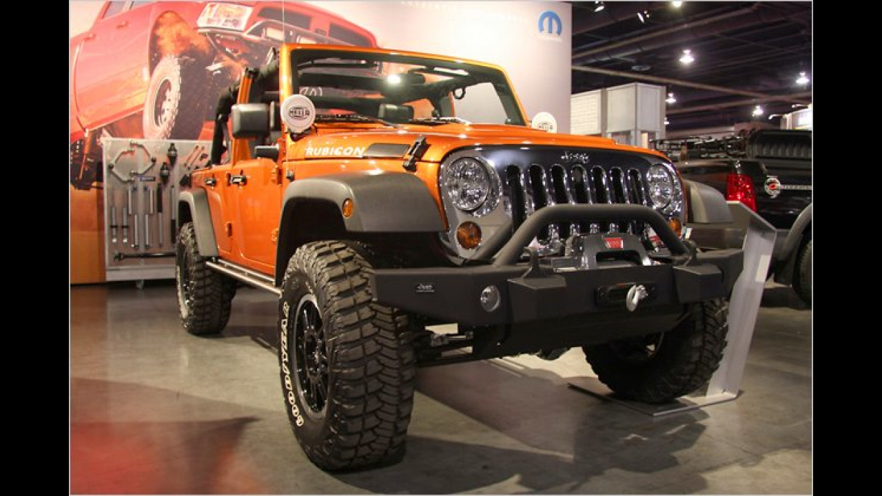 Jeep Wrangler Rubicon Mango Tango