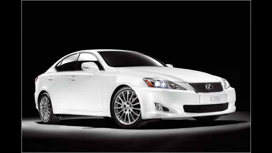 Lexus IS: Neue Ausstattung F-Sport für den Mittelklässler