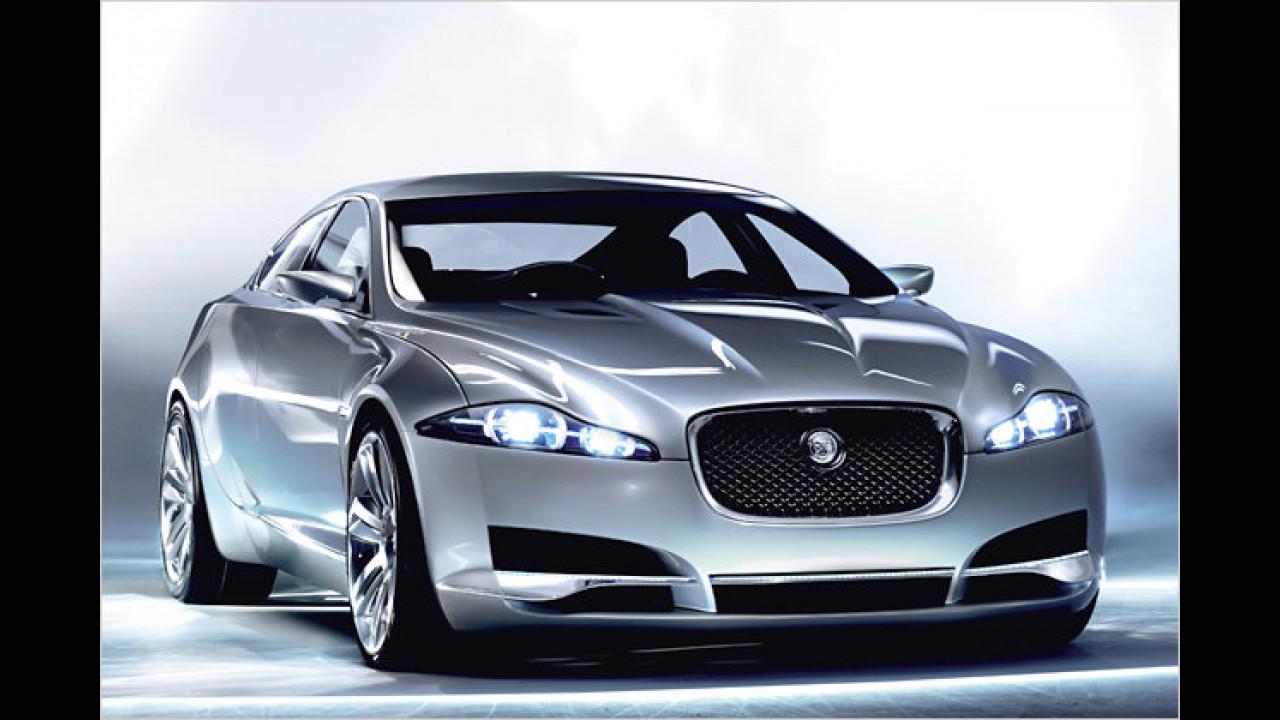 Aus dem Jaguar C-XF ...