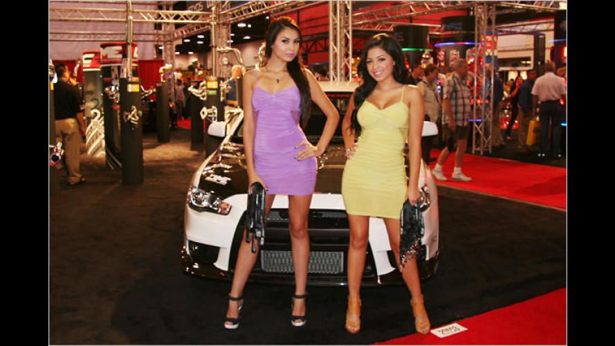 SEMA Show 2008 in Las Vegas: Die heißesten Messe-Girls
