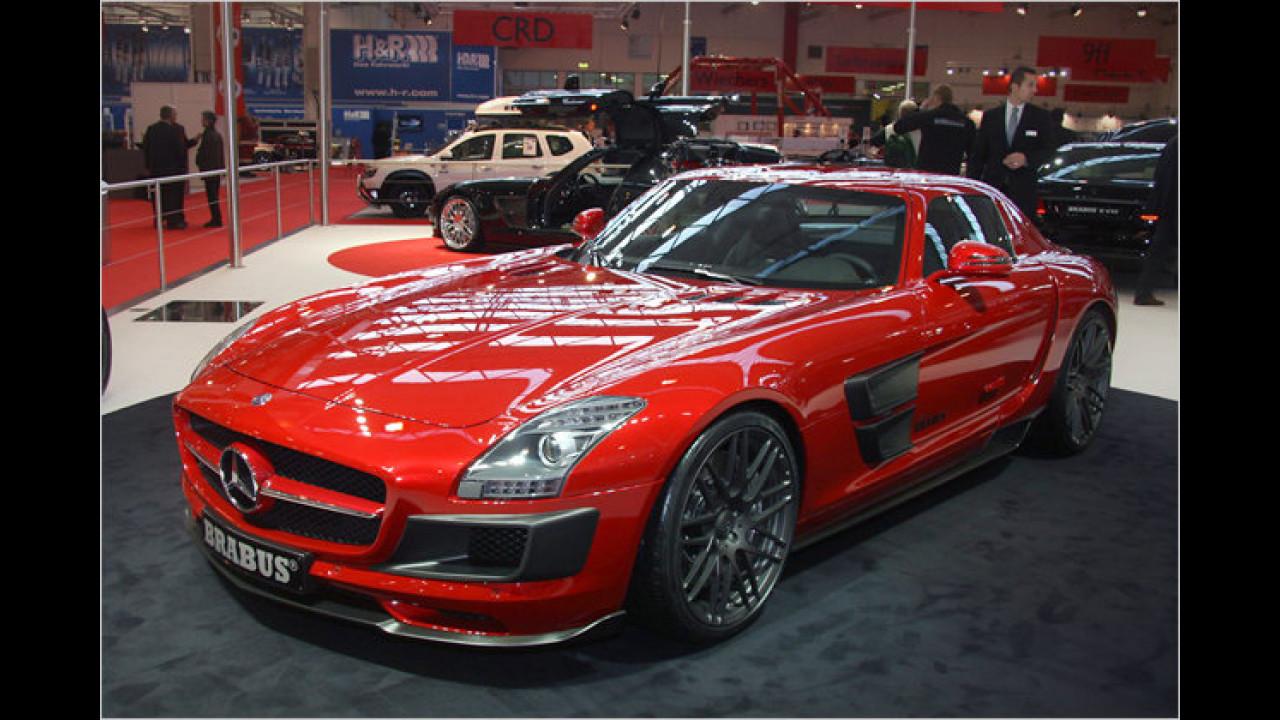 Brabus Mercedes SLS Widestar