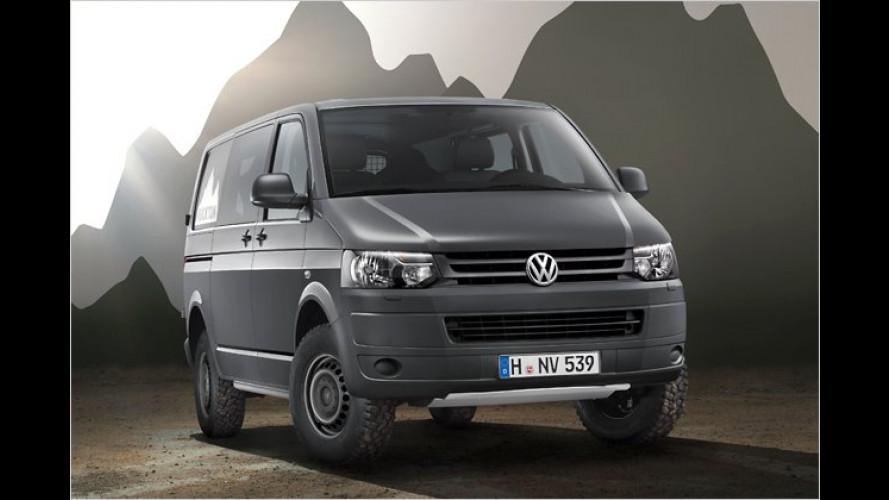VW Rockton: Transporter fürs Grobe
