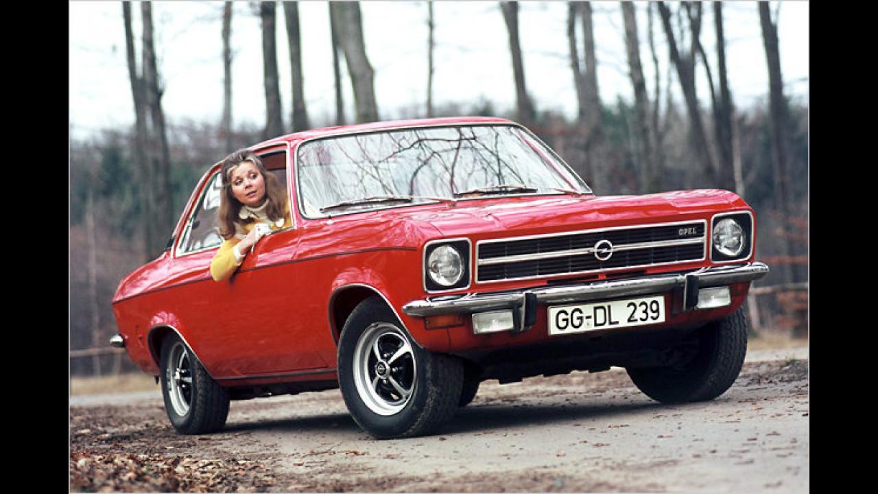 40 Jahre Opel Ascona