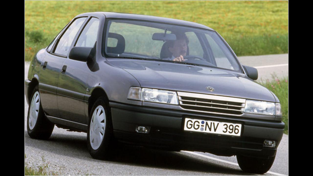 20 Jahre Opel Vectra