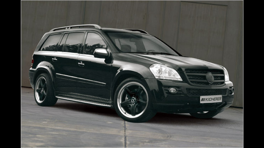 Kicherer GL 42 Black Line: Mehr Power für den Mercedes GL
