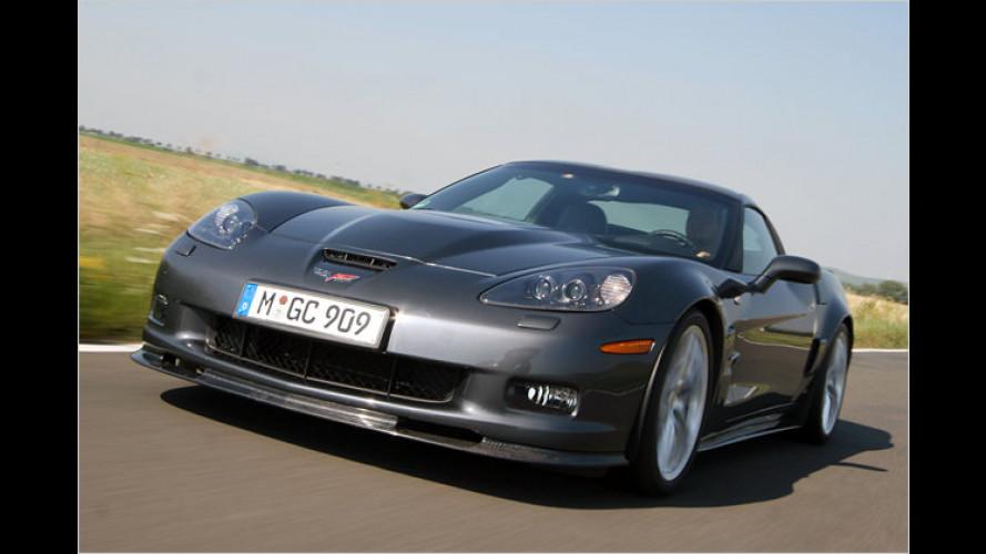 Flugrekorder-Aufzeichnungen: Corvette ZR1 im Test