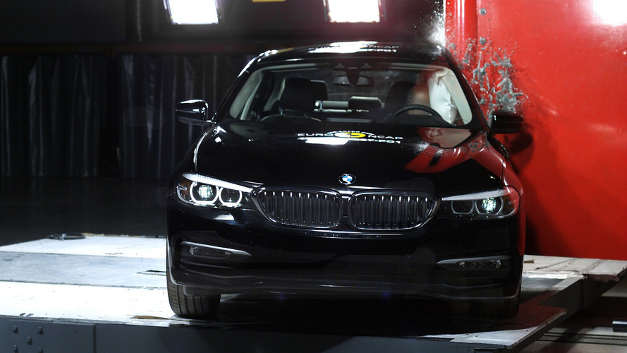 2017 BMW Série 5 Euro NCAP Crash Test