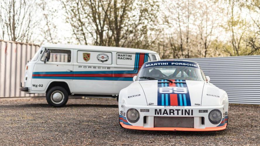 Harika Porsche 935 ve Transport minibüs takımı müzayede yolcusu