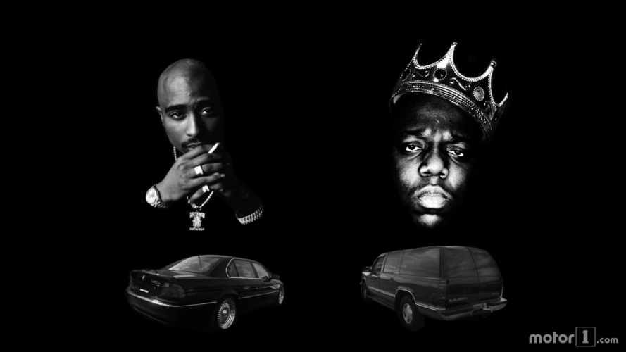 Voitures 2pac & Biggie smalls