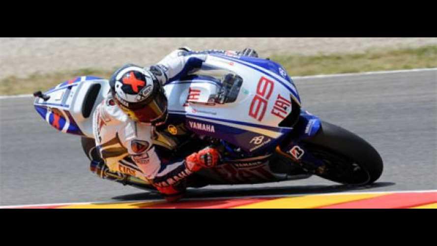 MotoGP 2009, Mugello: pole di Lorenzo