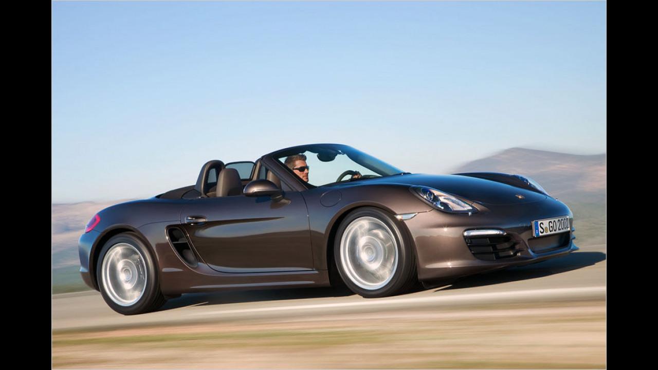 Platz eins: Porsche Boxster