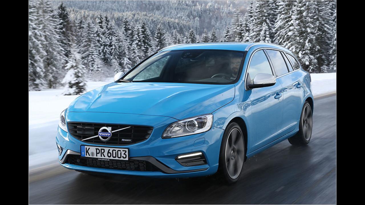 Mittelklasse: Volvo S60/V60