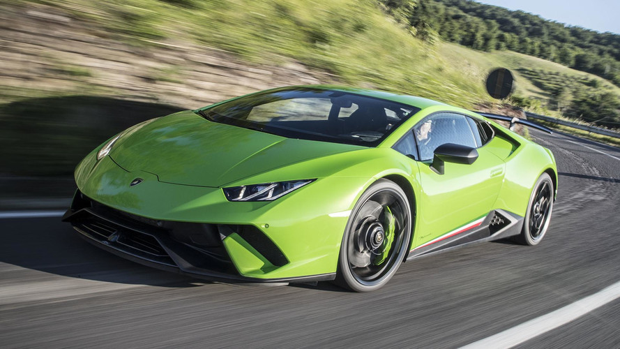 Lamborghini Huracan Performante On The Autobahn Is Pure Pleasure