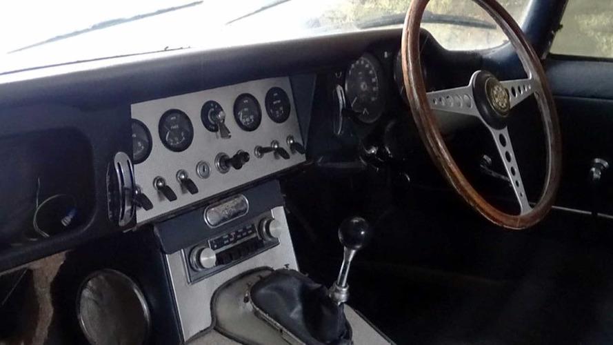 Jaguar Type E 1962 Sortie de grange