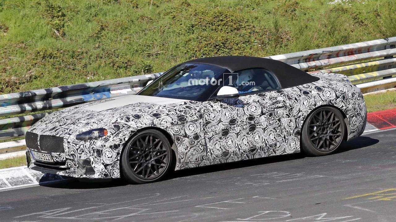 2019 BMW Z4 yeni casus fotoğrafları