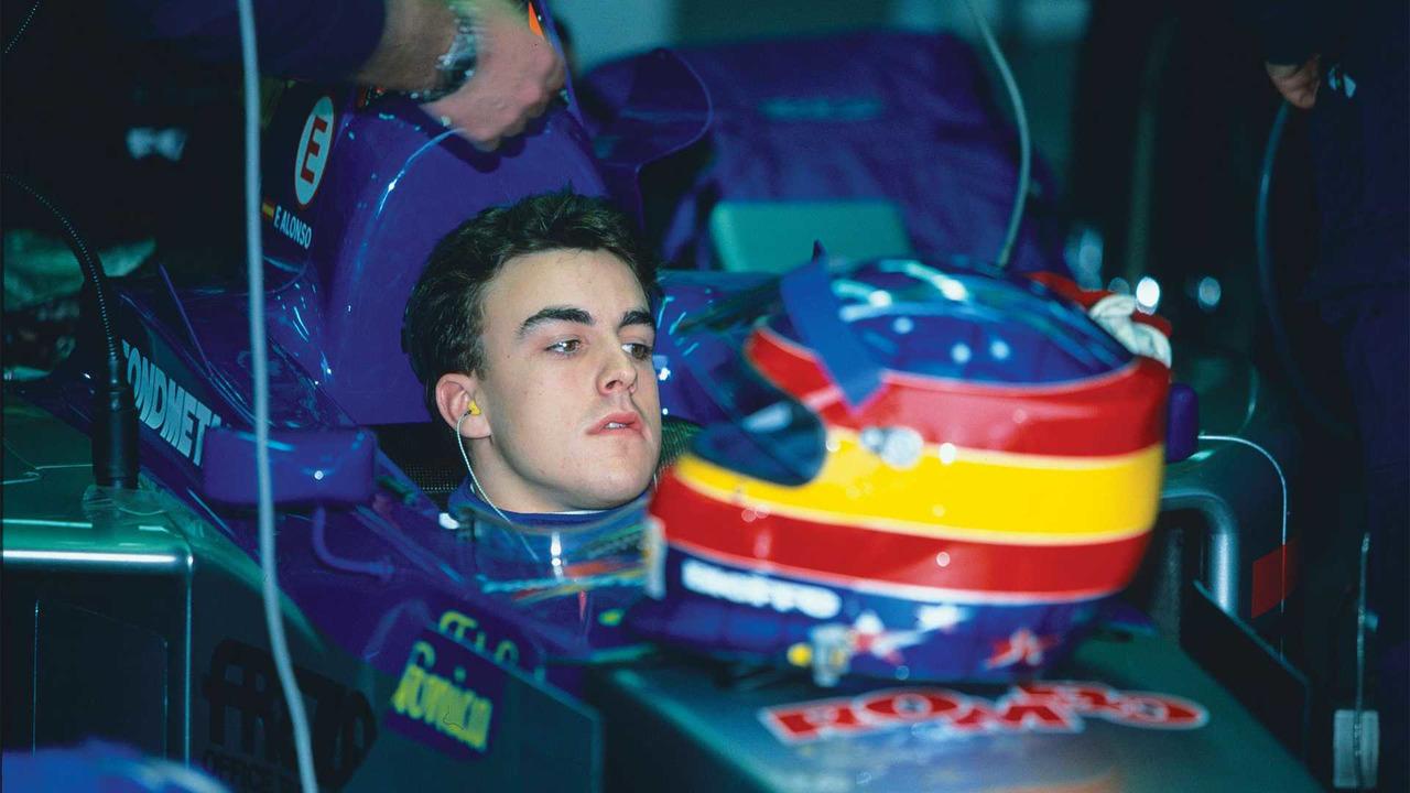 Fernando Alonso Indy - 2001