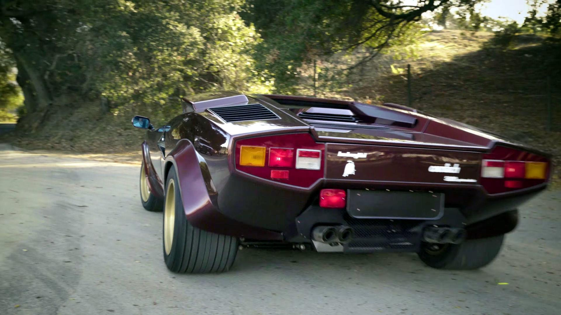 Valentino Balboni Reunited With The Boss S Lamborghini Countach