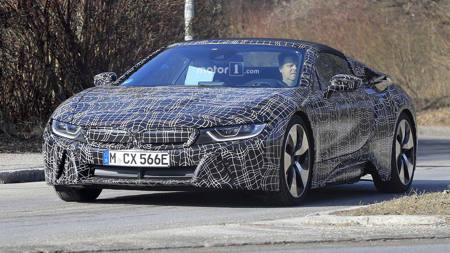 BMW i8 Roadster Heading To L.A. Auto Show With 400 HP?