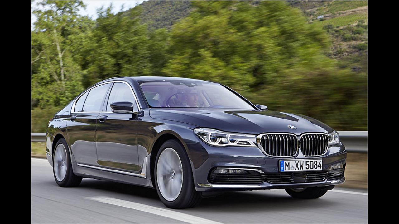 2. Platz: BMW 750d xDrive