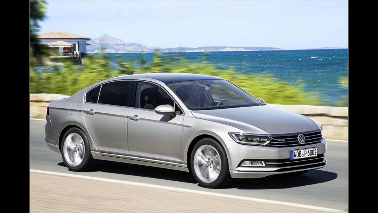 14. Platz: VW Passat 2.0 TDI 176 kW 4Motion DSG