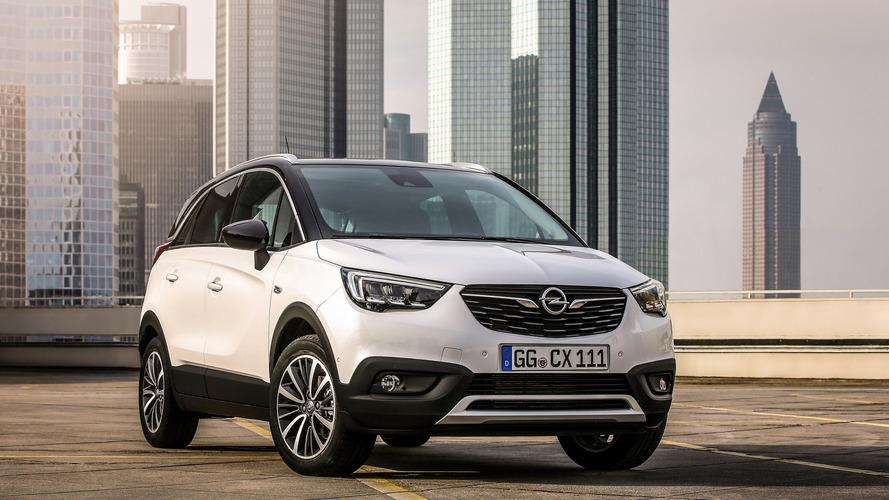 Már az ötvenezret is meghaladta az Opel Crossland X rendelések száma