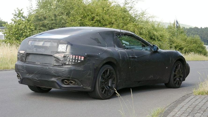 Maserati Spyder Spy Video at Nurburgring