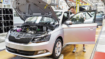 Skoda Fabia production