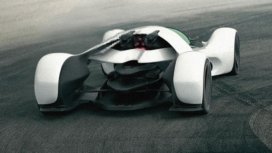 McLaren Hypercar Render