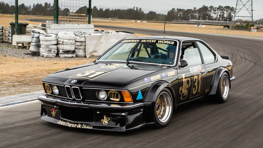 Legendary BMW 635 CSi 'Black Beauty' Returns To The Track