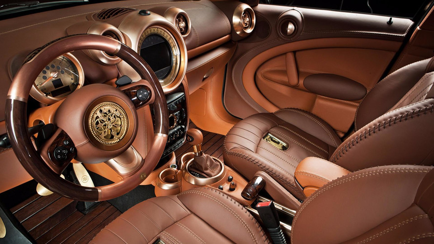 le plus luxueux intrieur pour mini countryman par carlex design