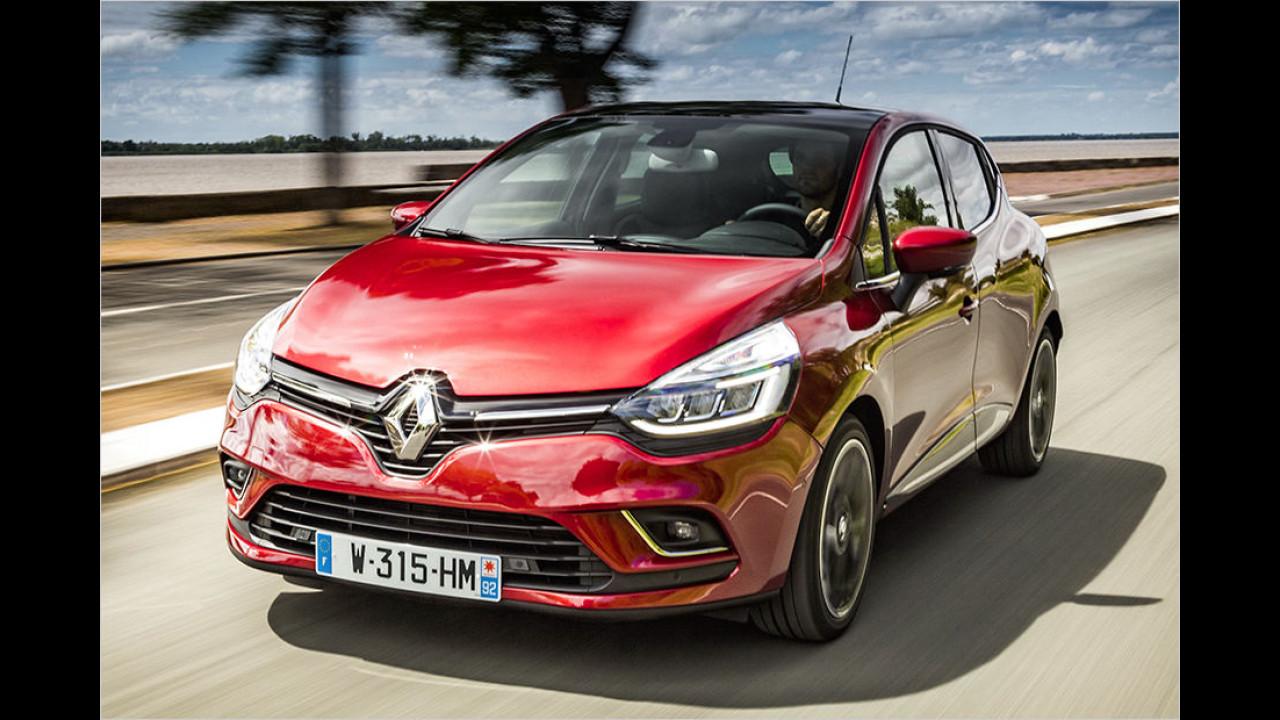 Platz 2: Renault Clio