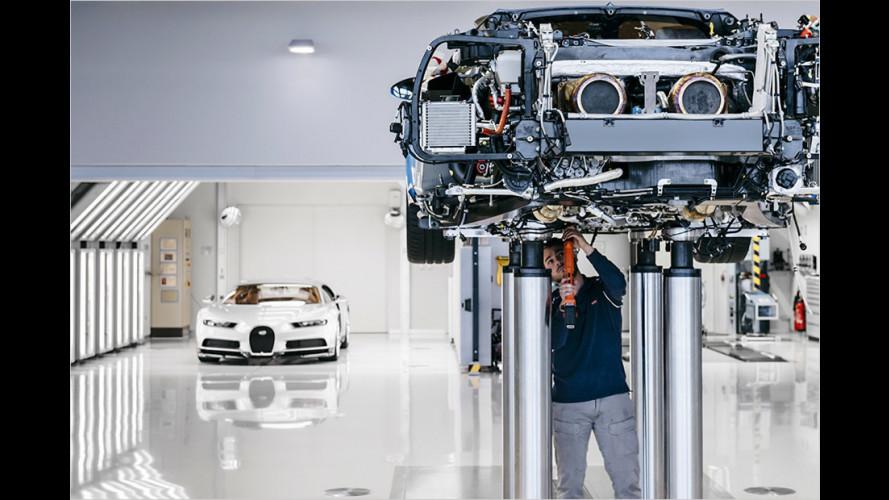 So entsteht ein Bugatti Chiron