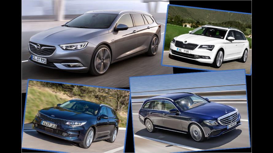 Opel Insignia (2017): Das sind die Rivalen des neuen Mittelklasse-Kombis