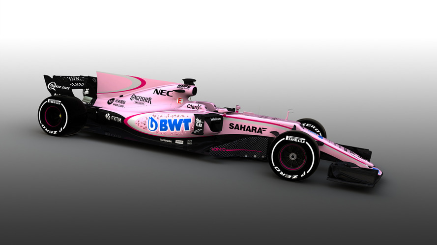 Force India cambia su decoración y se pasa al rosa