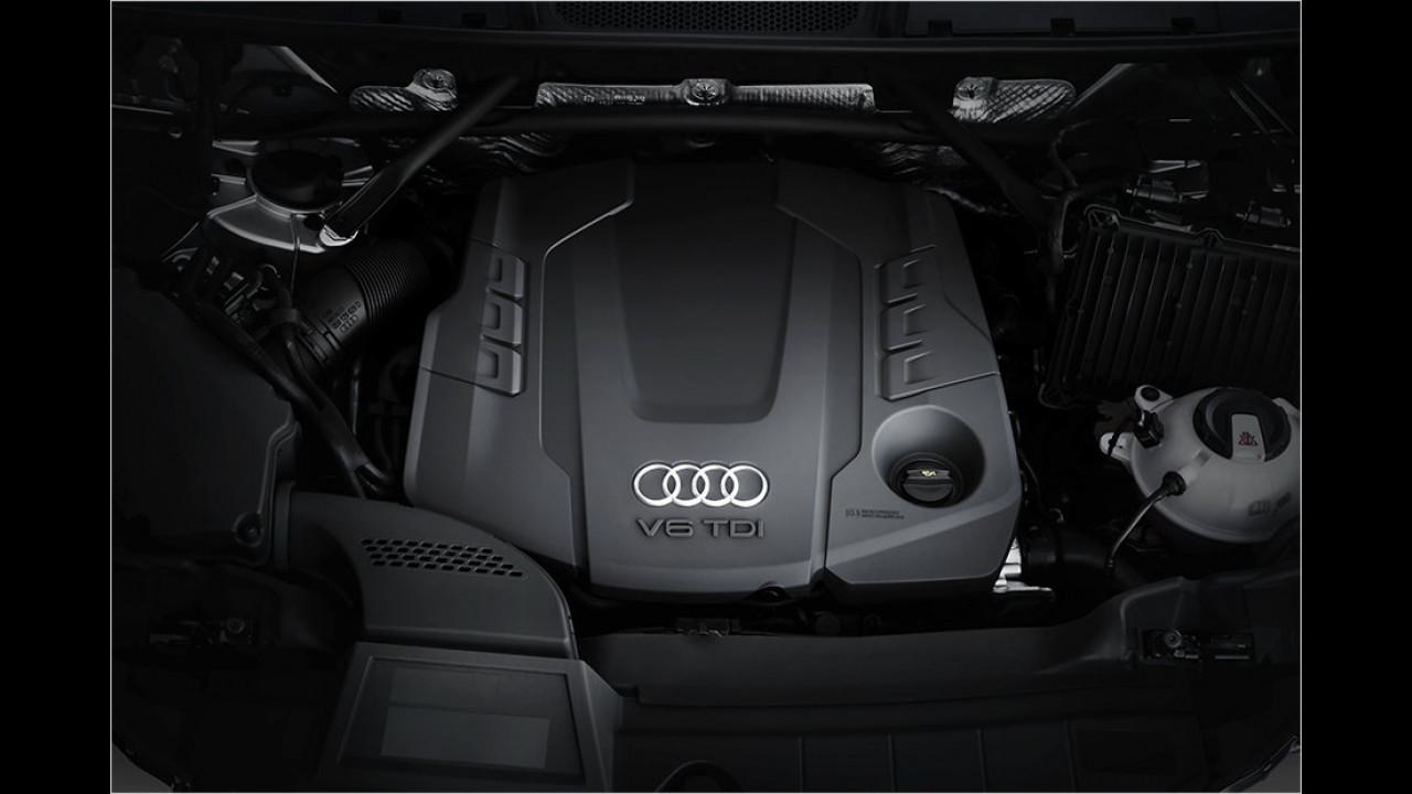 Motoren: 3.0 TDI mit 286 PS